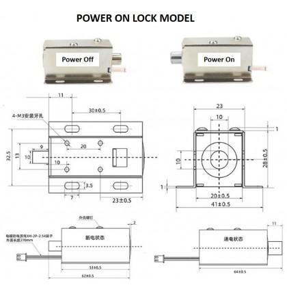 Electrical Door Lock or Solenoid Valve 12V 24V