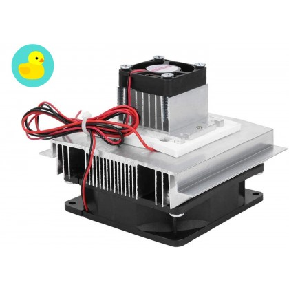 TEC1-12706 Peltier Thermoelectric Cooling Fan And Heat Sink DIY Kit